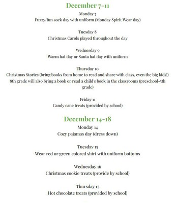 Let's have some fun!!!!  Join us with The 12 Days of Christmas!!