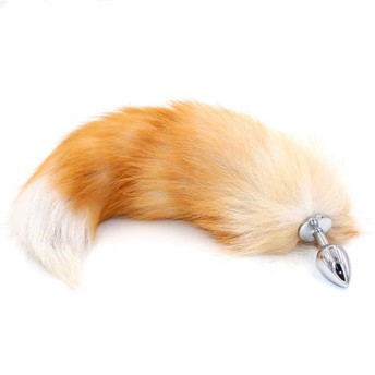 Metal Fox Tail Butt Plug – Multiple Sizes