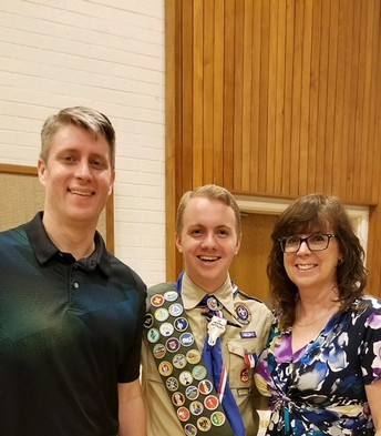 Former WJHS Student Becomes Eagle Scout