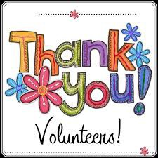 TCE Appreciates ALL our Volunteers!!!!