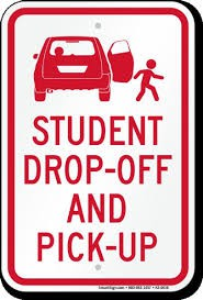 How can parents and care givers who transport their children help with the efficient arrival and dismissal of students?