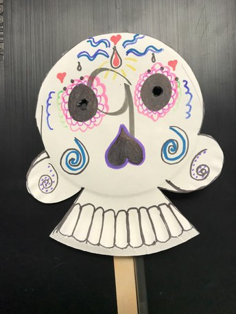 Spanish Class:  Dia de Los Muertos