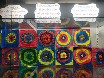 2nd Grade Wall Display