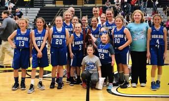 County Champs Girls Basketball