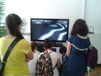 Learning in a Gallery