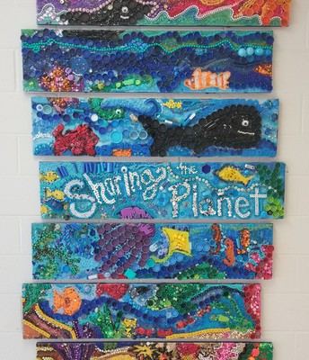Sharing the Planet Artwork