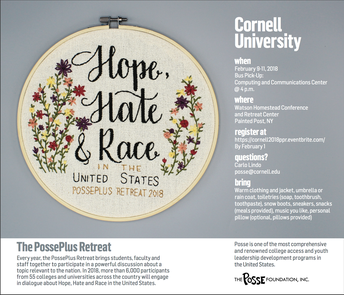 Posse Plus Retreat 2018: Hope, Hate & Race in the United States