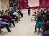 Dr. Rivera Speaks at PTA Meeting