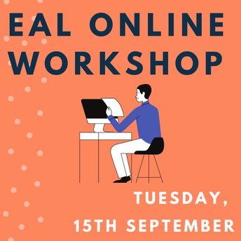 EAL Parent Workshop Tuesday, 15th September at 8:15 - 9:15am - by Mr Peter Collier