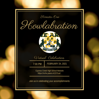 1st Semester Howlabration - Virtual