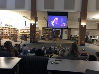 UHS Senate hosts movie night!