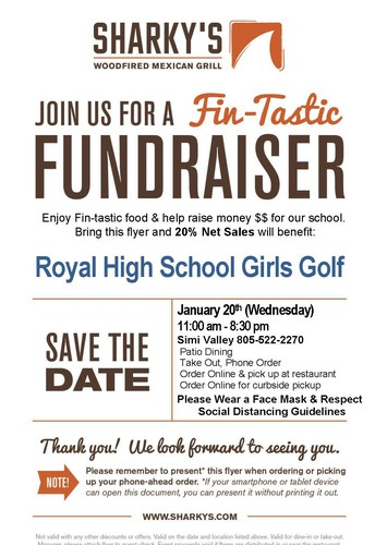 THIS WEEK'S FUNDRAISERS