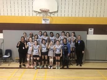 Junior Girls Volleyball Champions!