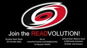 LOTS OF HOCKEY PUCKS GOING ON THE READVOLUTION HOCKEY RINK