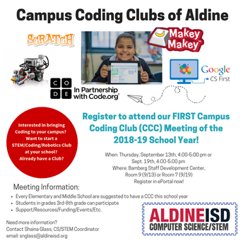 Campus Coding Clubs of AISD