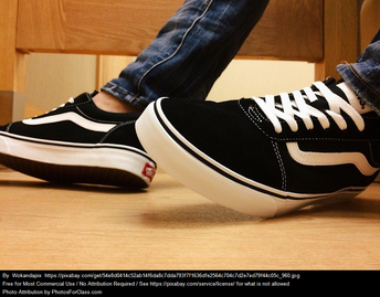 my favorite shoes are vans