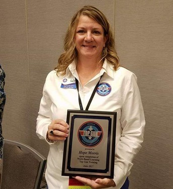 Dr. Hope Morris, WBL Coordinator