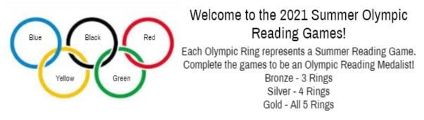 Summer Reading Olympic Game