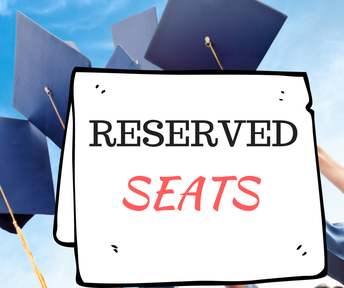 Premium Reserved Graduation Seats up for Auction