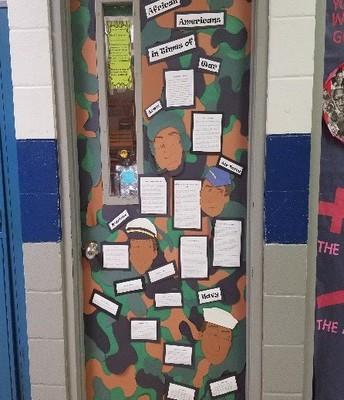Mrs. Tillman's Door