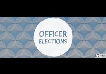 Officer Applications due this Friday