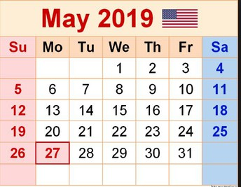 May Professional Learning  Calendar