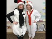 Dress Like a Snowman Day