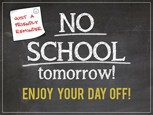 No Student Attendance Tomorrow, November 20, 2020 -Professional Development Day