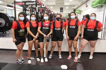DHJ Girls' Competitors