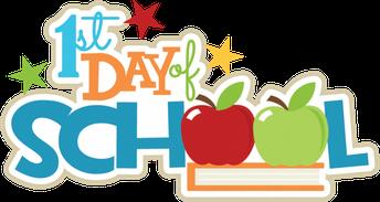 First Day of School   -   Primer día de clases