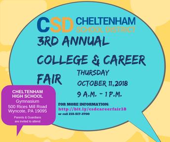 3rd Annual College & Career Fair