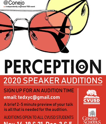 TEDx Youth Speaker Auditions