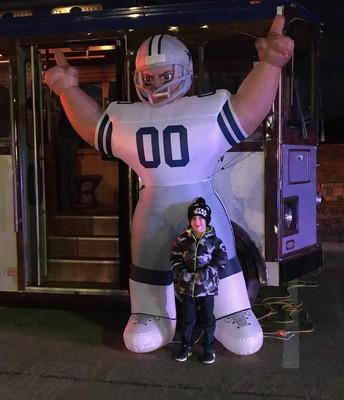 Dallas Cowboys Trolley