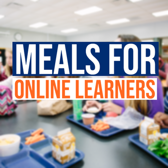 meals for online learners graphic