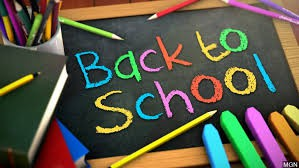The first day of school is almost here!