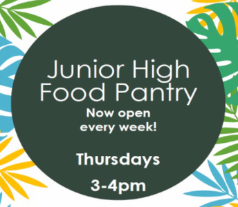 TJHS Weekly Food Pantry