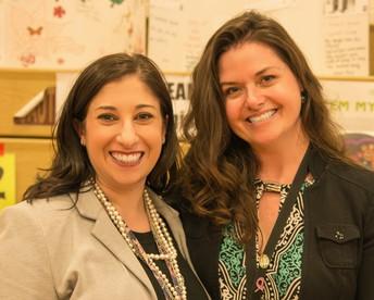 Mary Jo Hutchinson & Erica DeMichele