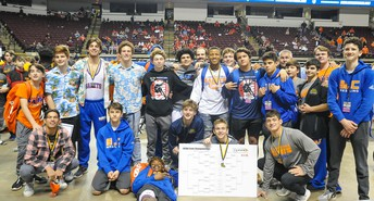 Wrestling Places 3rd at State Championship