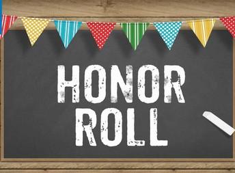 7th & 8th Grade Honor Roll