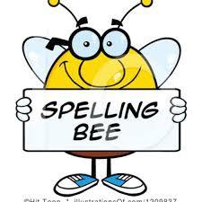 GRADE SCHOOL SPELLING BEE THIS SATURDAY, SEPTEMBER 29