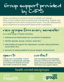 Connecting for Emotional Support: Group Counseling through CAPS