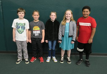 Congratulations to our 3rd Grade Spelling Bee winners: