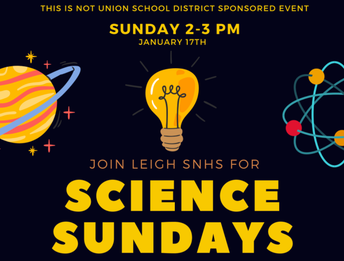 Science Sundays with Leigh High School Students