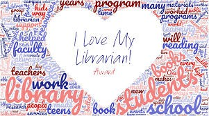 I Love My Librarian Award Nominations