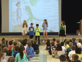 Students Learn About Writing Poetry From Author Michelle Schaub