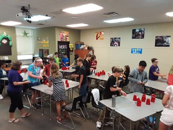 Hands-Free Cup Stacking - Mrs. Beane