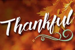 Always Thankful...