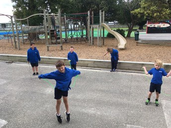 Room 5 Skipping for Fitness!