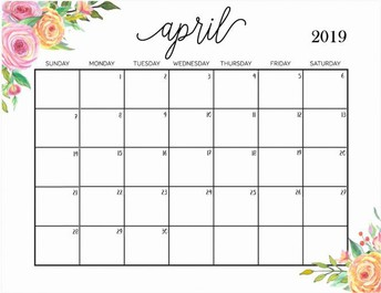 April Professional Learning Calendar