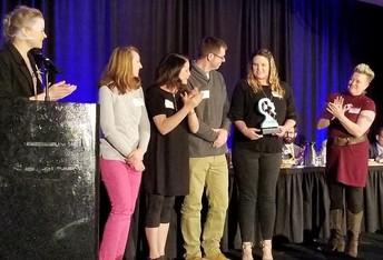 Sand Creek Zone Art Teachers Honored